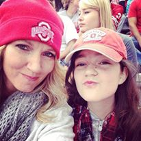 Game Day with the kiddo. #GoBucks