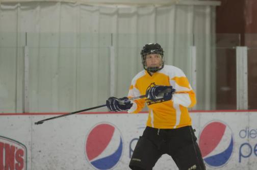 That time I tried hockey. #Epic #Fail