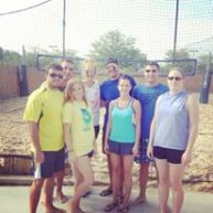 Playing sand volleyball with the team! This time it was for Diggin' it for the House to raise money for Ronald McDonald House Charities of Central Ohio.
